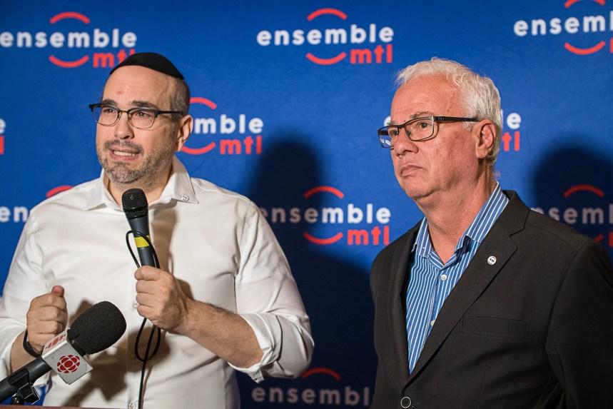 Jean-Pierre Szaraz affrontera Luc Rabouin dans la course à la mairie du Plateau-Mont-Royal