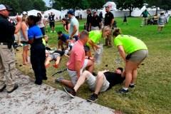 Cinq blessés après un éclair au Championnat du circuit de la PGA