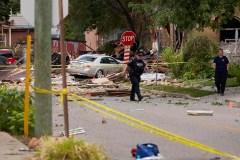 Explosion à London: les résidants regagnent leur domicile