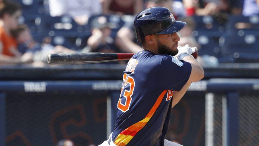 Les Astros l'emportent 6-3 lors du premier match du Québécois Abraham Toro