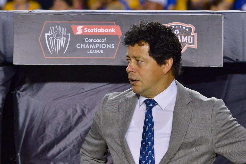 Wilmer Cabrera est l'entraîneur-chef de l'Impact de Montréal… pour l'instant
