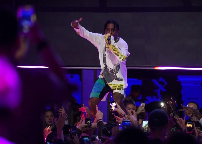 Le rappeur A$AP Rocky condamné à de la prison avec sursis
