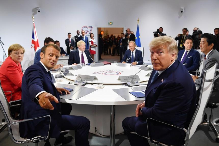 Méthode Macron, méthode Trump: deux conceptions du G7