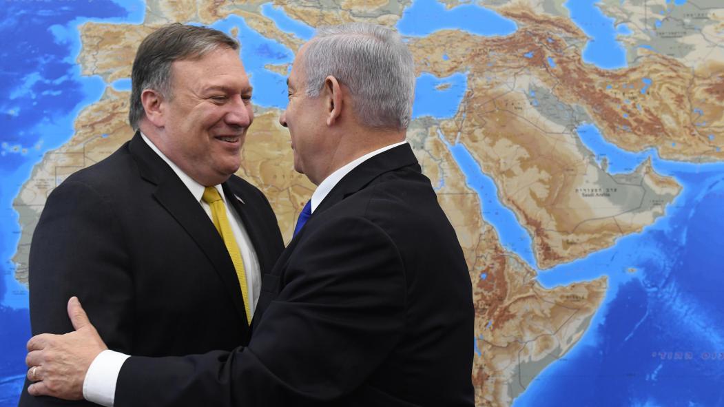 Mike Pompeo en Israel