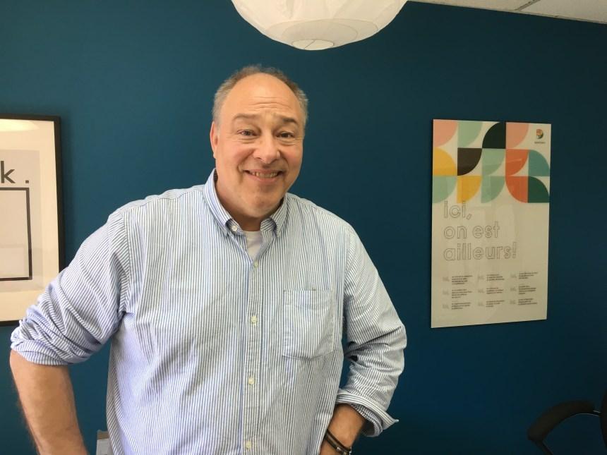 Gil Favreau, le nouveau directeur général de Quartier D