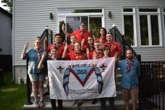 Expédition de voile-avirons vers Québec
