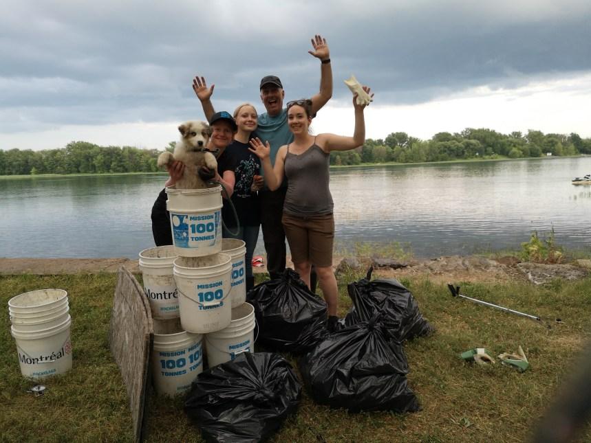 Campagne de ramassage de déchets dans RDP-PAT