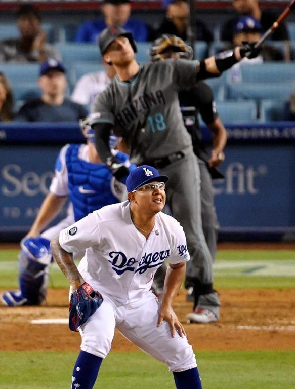 Le releveur des Dodgers Julio Urìas est suspendu 20 matchs pour violence conjugale