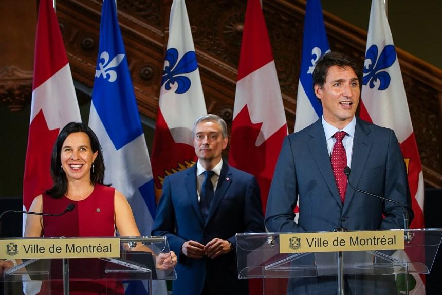 Justin Trudeau injectera 50M$ pour le Grand parc de l'Ouest