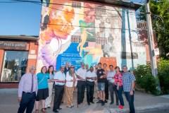 Deux nouvelles murales à Saint-Laurent
