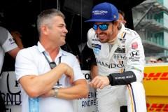Fernando Alonso amorce sa préparation avec l'équipe de rallye de Toyota