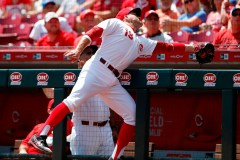Reds: le premier but Joey Votto souffre de raideurs dans le bas du dos