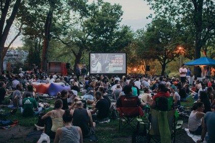Films en plein air à Montréal