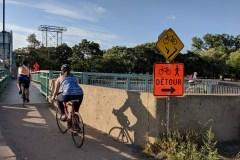 Fermeture sur la piste cyclable du canal de Lachine: un an de détour