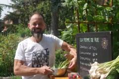 Agriculture urbaine : une ferme sur le bord du trottoir