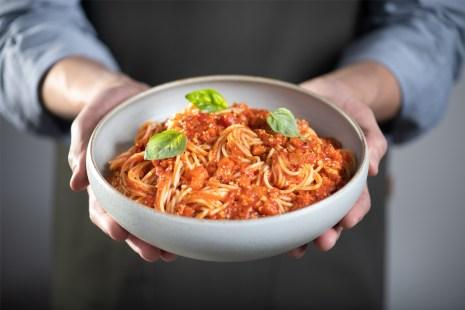 Spaghetti au tofu