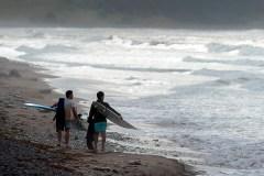 Erin déverse de fortes pluies dans l'ouest des Maritimes