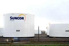 Déversement d'huile hydraulique près de l'usine Suncor