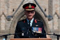 Le lieutenant-général Wayne Eyre commande maintenant l'armée de terre