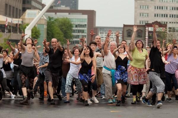 Danser avec un chorégraphe international dans RDP-PAT - Métro Montréal