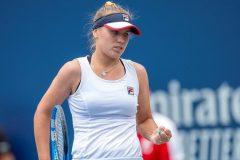 L'Américaine Sofia Kenin remporte son troisième titre de la saison