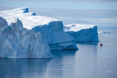 Fonte des glaces: la Nasa sonde les mers du Groenland