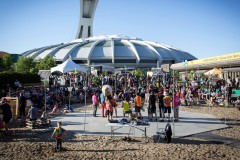 Les Jardineries: un paradis urbain au pied du Stade olympique