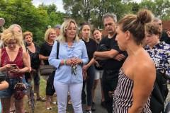 Une nouvelle sortie sur Galerie-d'Anjou pour la cour de voirie crée des mécontents