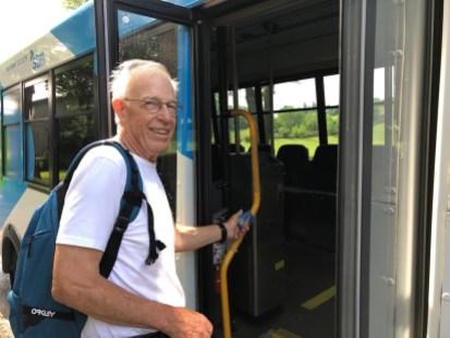 Jim Orrell embarque dans la 259 Mercier-Ouest