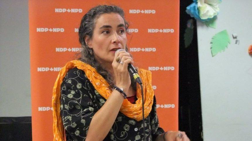 Investiture de Sophie Thiébaut comme candidate du NPD