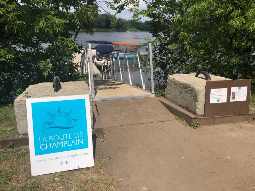 La route de Champlain victime d'actes de vandalisme