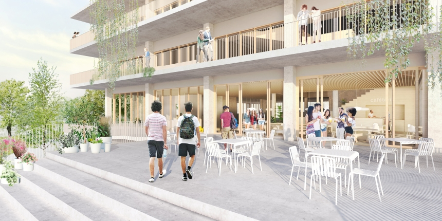 Une nouvelle école secondaire Sainte-Anne sera bientôt construite à Dorval