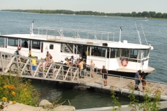 Le service de navette fluviale de la Promenade Bellerive prolongé