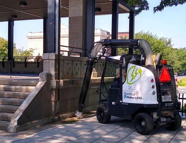 De l'équipement 100% électrique pour nettoyer les rues de Mercier