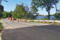 Boulevard Gouin : malgré les travaux, le cratère demeure