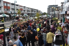 Corso de la rue Jean-Talon : une inauguration achalandée