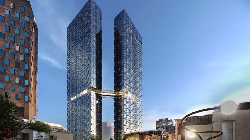 Maestria: trois étages de plus pour avoir la plus haute tour résidentielle de Montréal