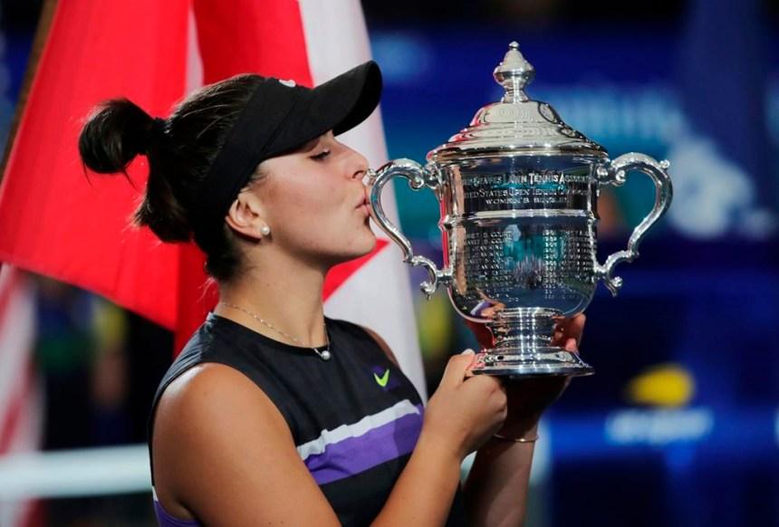 La vie de Bianca Andreescu s'est transformée, mais ses buts restent ambitieux