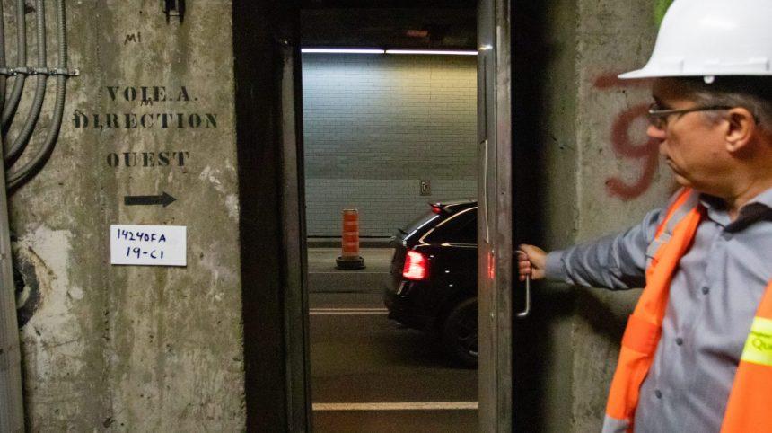 Les tunnels Ville-Marie et Viger en chantier pour les 10 prochaines années