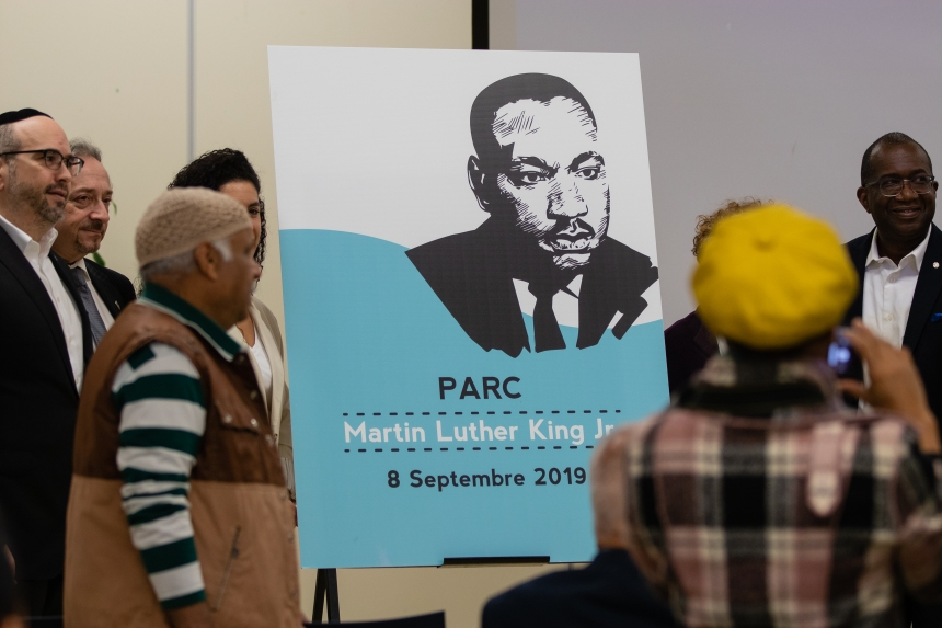 Le parc Martin-Luther-King célébré