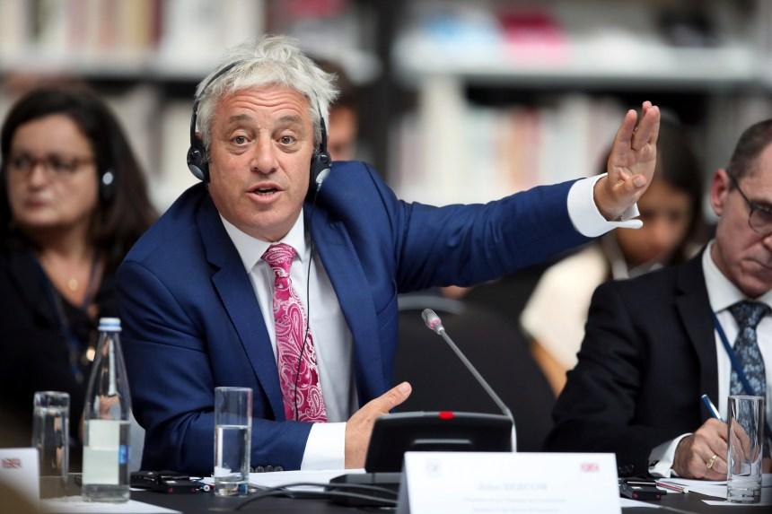 Brexit: le président de la Chambre des communes annonce sa démission