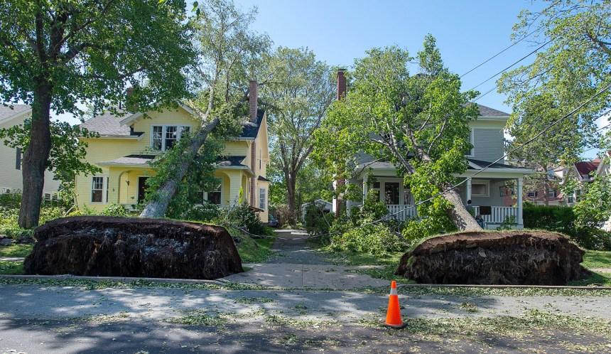 Justin Trudeau à Halifax pour prêter main-forte aux sinistrés de Dorian