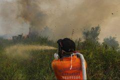 9000 pompiers et soldats luttent contre les incendies en Indonésie