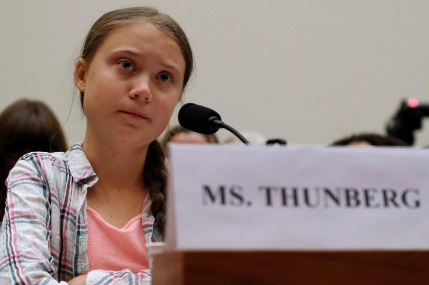 Climat: Greta Thunberg interpelle le Congrès américain