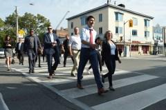 Andrew Scheer et Justin Trudeau reprennent leur bâton de pèlerin