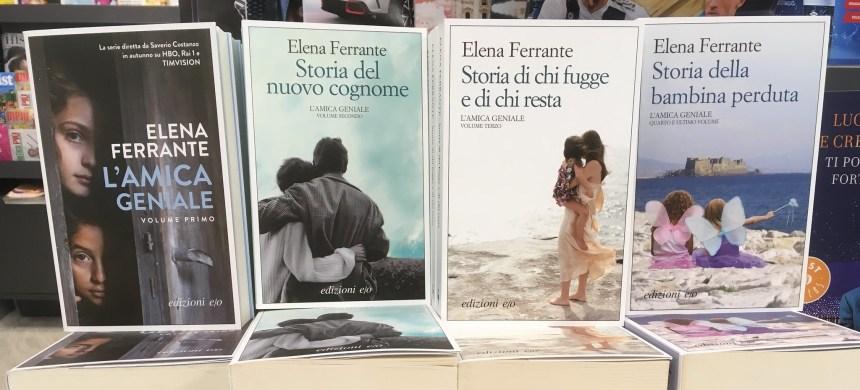 Elena Ferrante publiera un nouveau roman au mois de novembre