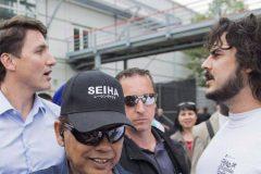 Le harangueur de Justin Trudeau veut l'affronter dans Papineau