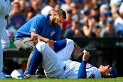 Cubs: au moins 5 jours d'absence pour Rizzo, qui est blessé à la cheville