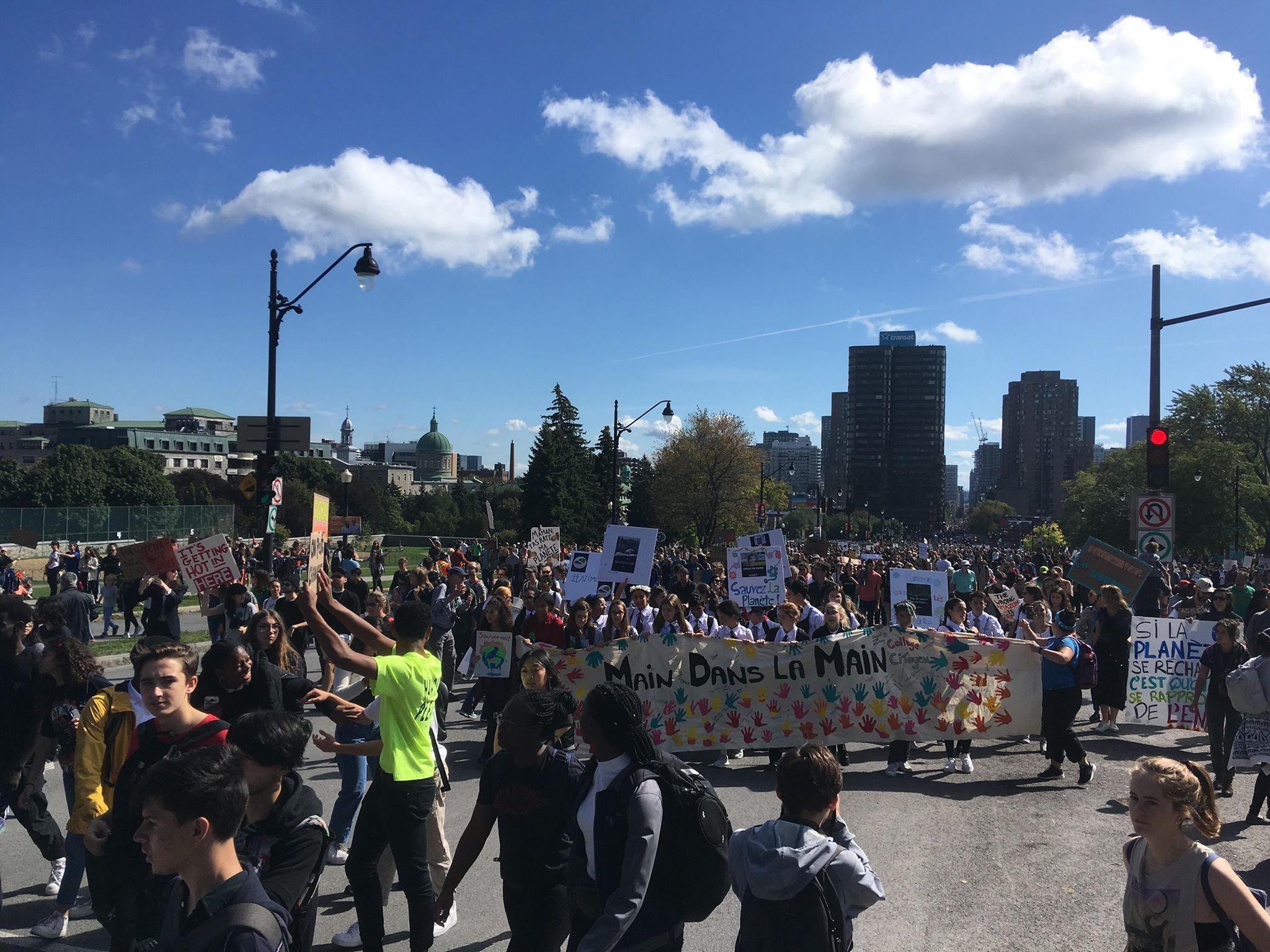 climat marche montréal