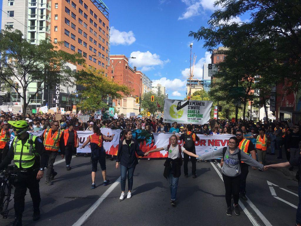 Montréal marche climat